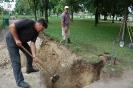 Ivókút létesítése a központi parkban