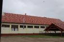 Napelemek telepítése az iskolai konyha tetőszerkezetére 2014. augusztus