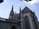 Szent Anna templom és a Redl kastély